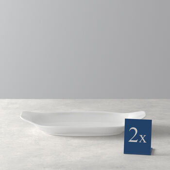BBQ Passion Appetizer & Dessert Plate, Set of 2