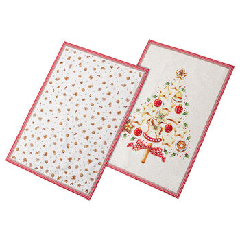 Winter Bakery Delight Kitchen Towe, Set of 2