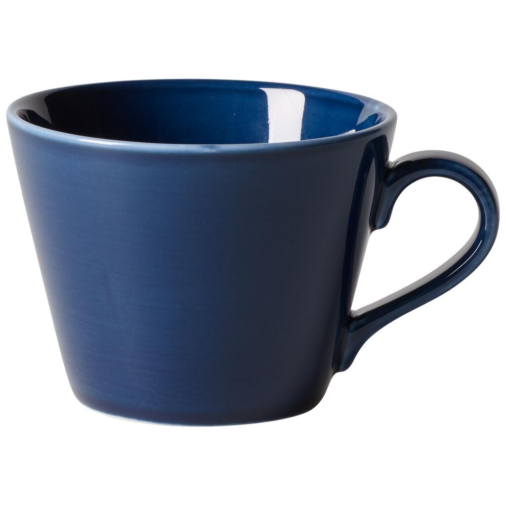 빌레로이 앤 보흐 오가닉 딥 블루 커피잔 Villeroy & Boch Organic Deep Blue Coffee Cup 9 oz