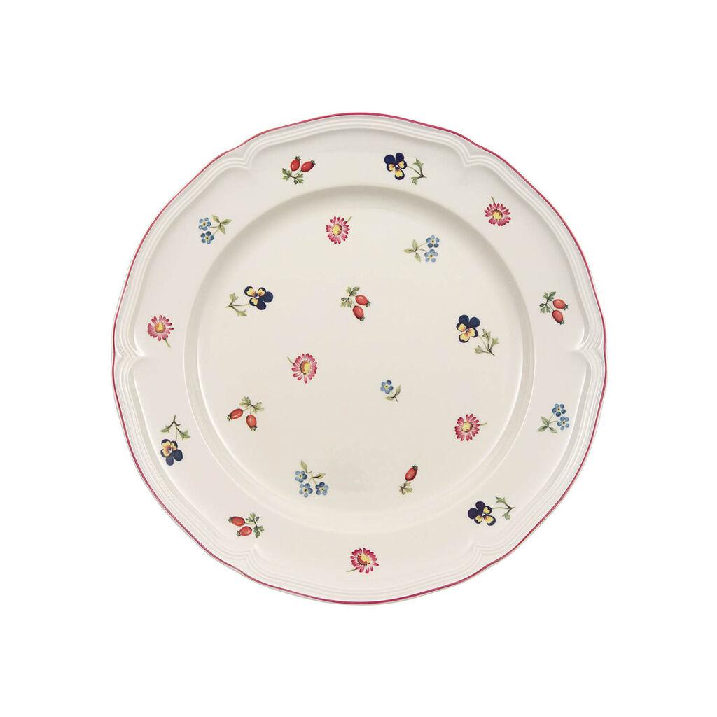 빌레로이 앤 보흐 쁘띠 플뢰르 디너 접시 Villeroy & Boch Petite Fleur Dinner Plate 10 1/2 in
