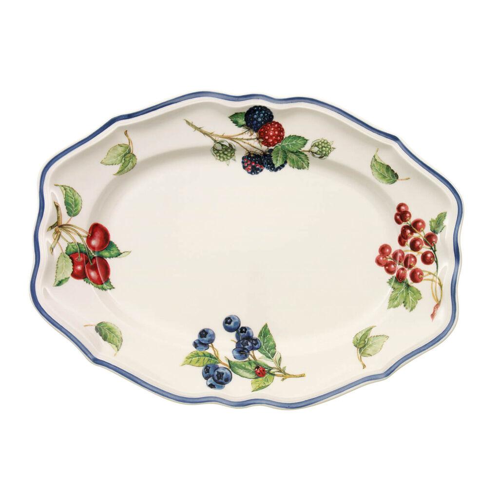 빌레로이 앤 보흐 코티지 오발 접시 Villeroy&Boch Cottage Oval Platter 11 3/4 in