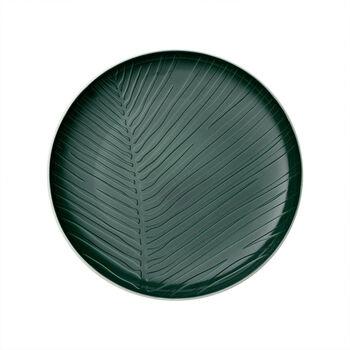 it's my match Green Plate: Leaf