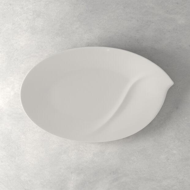 Flow Large Oval Platter, , large