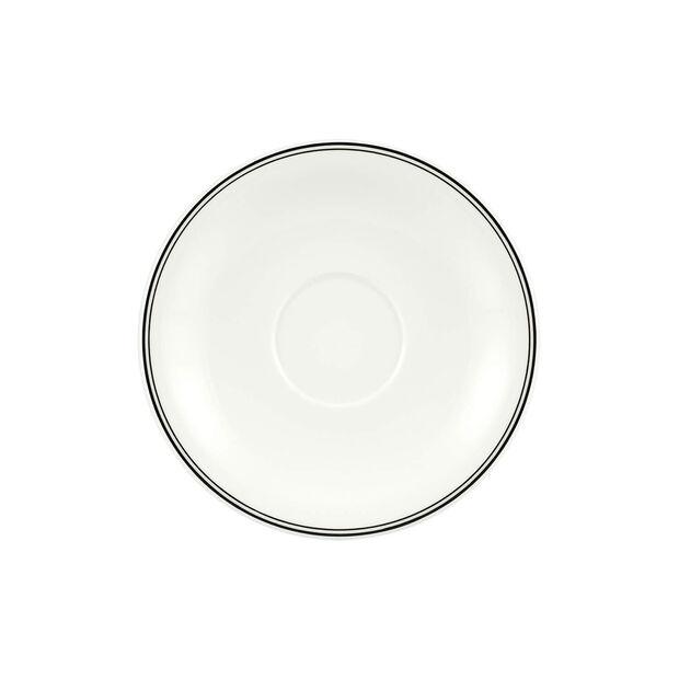 Charm Breakfast Design Naif Saucer White Coffee Cup Xl 20cm