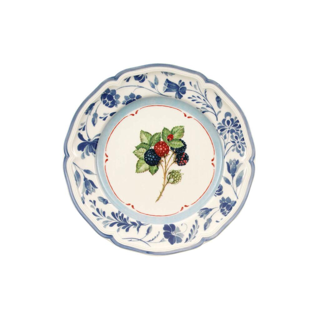 빌레로이 앤 보흐 코티지 샐러드 접시 Villeroy&Boch Cottage Blue Stencil Salad Plate 8 1/4 in
