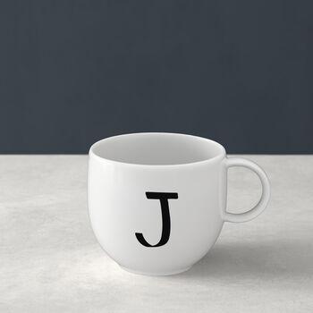 Letters Mug: J