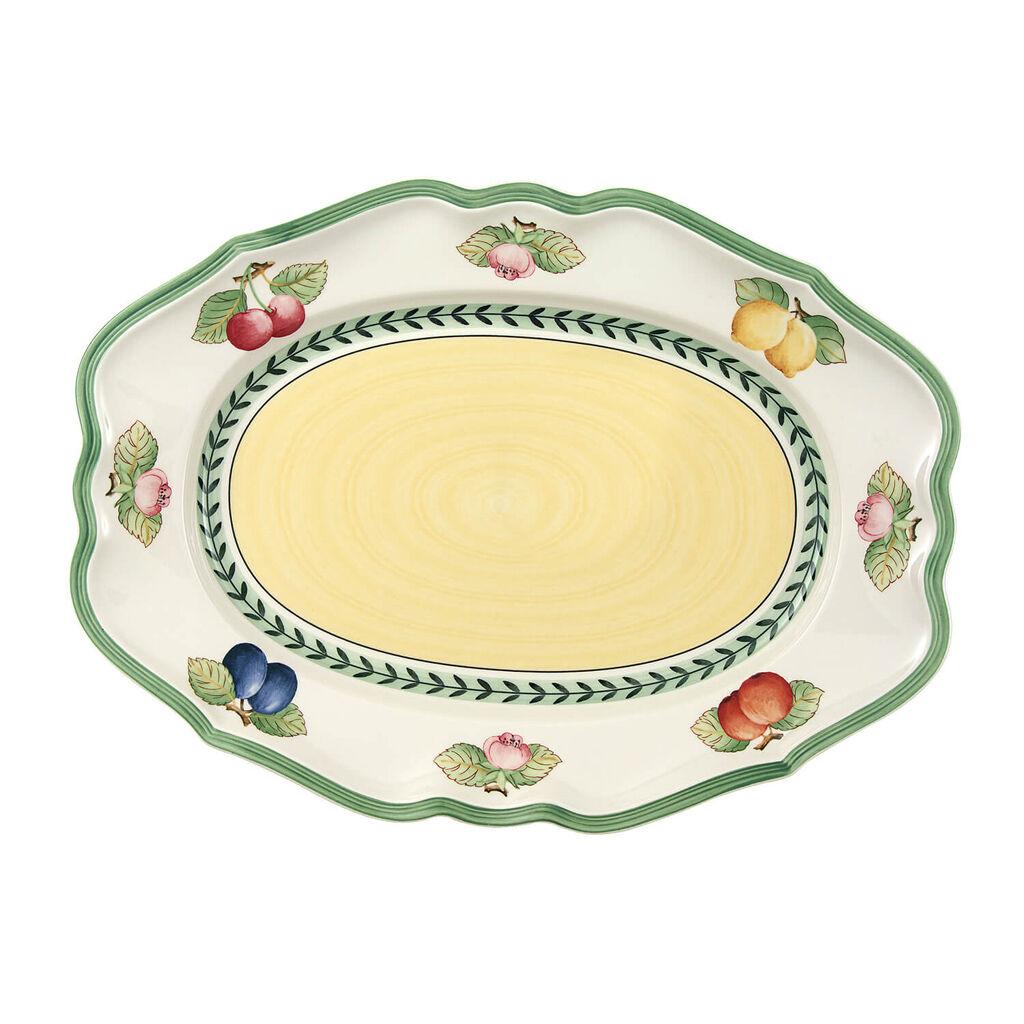 빌레로이 앤 보흐 프렌치 가든 오발 접시 Villeroy&Boch French Garden Fleurence Oval Platter 14 1/2 in