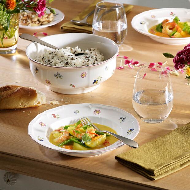 Petite Fleur Rim Soup, , large