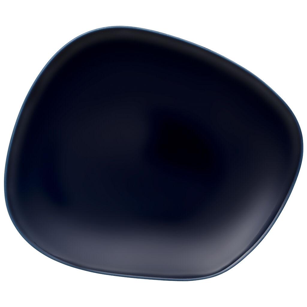빌레로이 앤 보흐 오가닉 딥 블루 대접시 (디너 접시) Villeroy & Boch Organic Deep Blue Dinner Plate 10.5 in