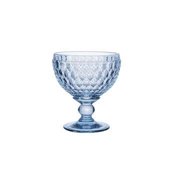 Boston Coloured Champagne/Dessert Bowl: Blue, Set of 4