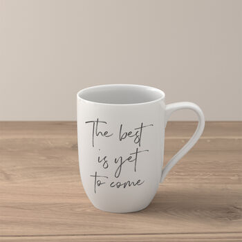 Statement Mug: The best yet to come
