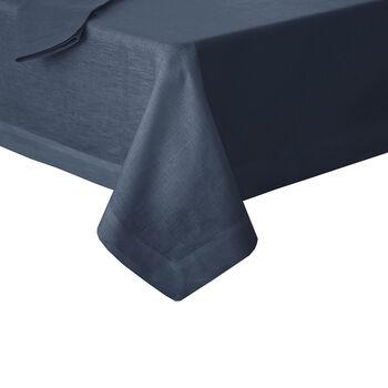 """La Classica Oblong Tablecloth: Indigo, 70x96"""""""