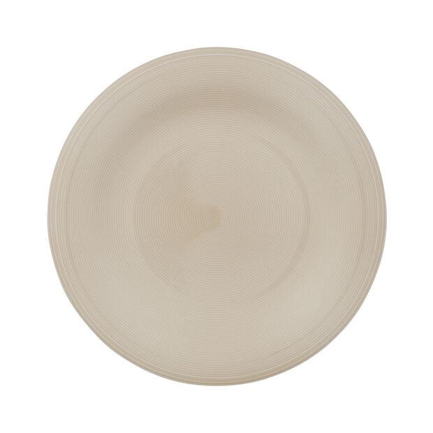 Color Loop Sand dinner plate 28x28x3cm, , large