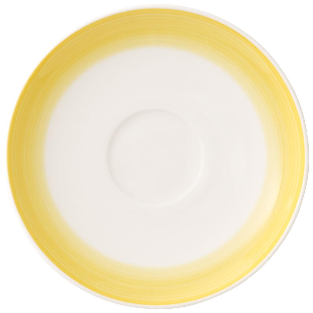 빌레로이 앤 보흐 컬러풀 라이프 에스프레소잔 받침대 Villeroy & Boch Colorful Life Lemon Pie Espresso Cup Saucer 4.75 in