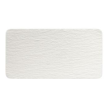 Manufacture Rock Blanc Rectangular Serving Plate