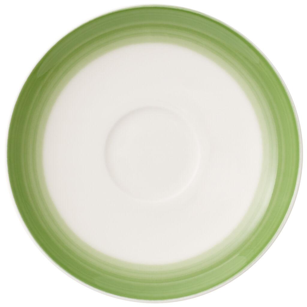 빌레로이 앤 보흐 컬러풀 라이프 에스프레소잔 받침대 Villeroy & Boch Colorful Life Green Apple Espresso Cup Saucer 4.75 in