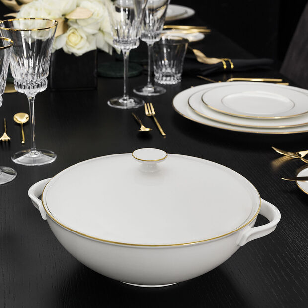 Anmut Gold Soup Tureen, , large