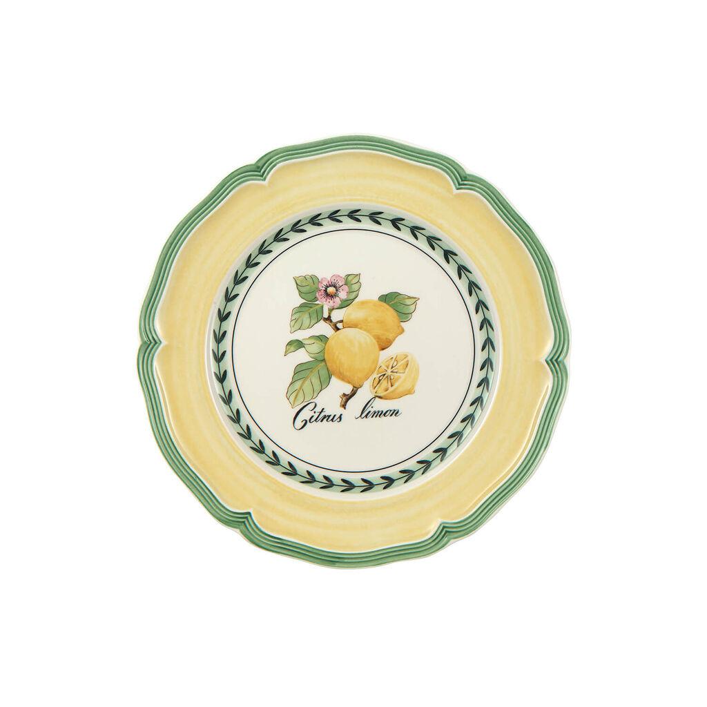 빌레로이 앤 보흐 프렌치 가든 샐러드 그릇 Villeroy&Boch French Garden Valence Lemon Salad Plate 8 1/4 in
