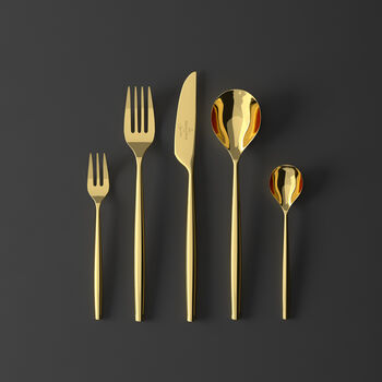 MetroChic d'Or 5 Piece Place Setting