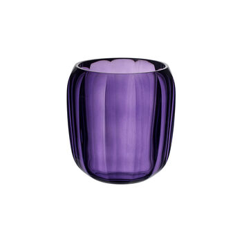 Coloured DeLight Hurricane Lamp/Small Vase: Gentle Lilac