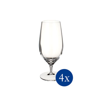 Purismo Beer Glass, Set of 4