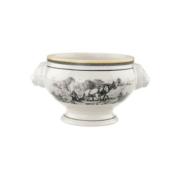 Audun Ferme Lion Head Soup Bowl