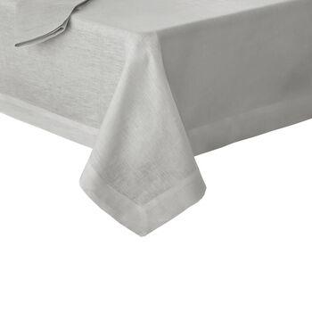 """La Classica Oblong Tablecloth: Dove Grey, 70x96"""""""