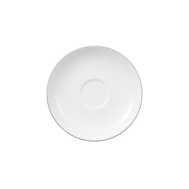 Anmut Platinum No. 1 Teacup Saucer, , large