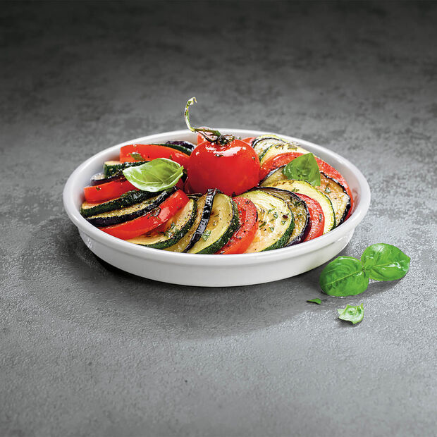 Clever Cooking Round Serving Dish/Lid, Small, , large