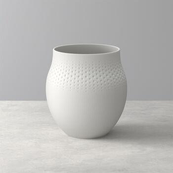 Manufacture Collier Blanc Perle Vase, Large