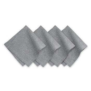 La Classica Napkin: Silver, Set of 4