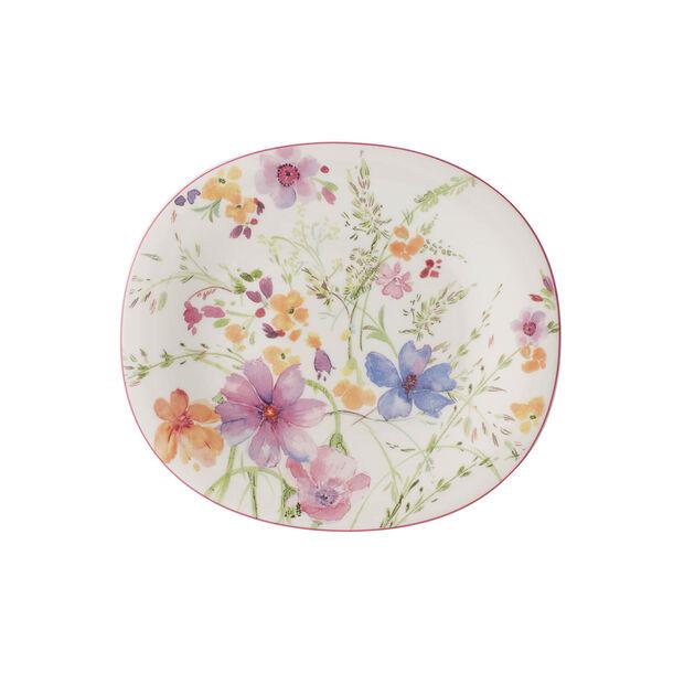 Mariefleur Oval Salad Plate, , large