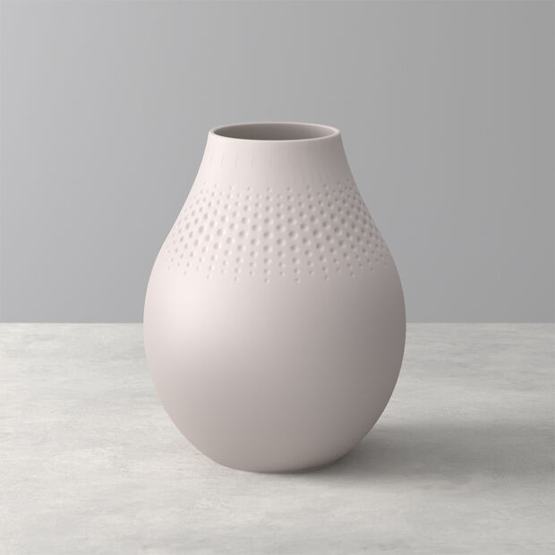 Manufacture Collier Sand Perle Vase, Tall, , large