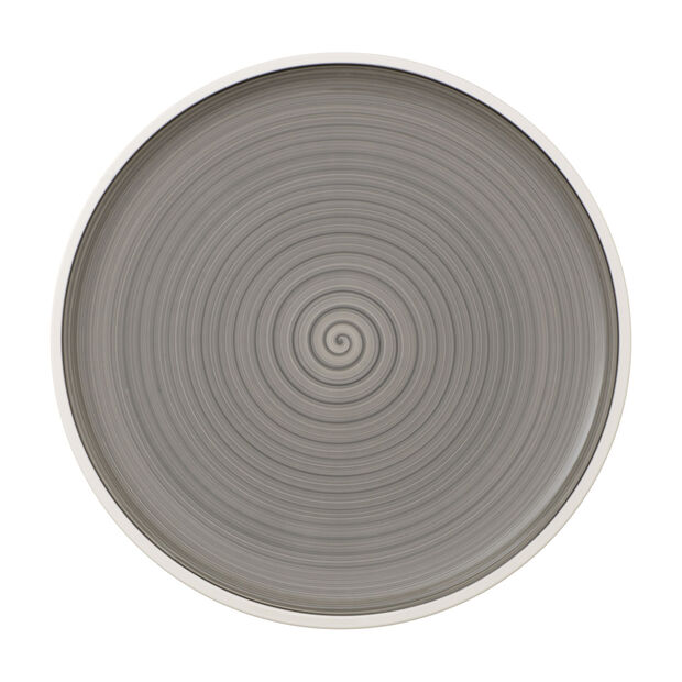Manufacture Gris Pizza/Buffet Plate, , large