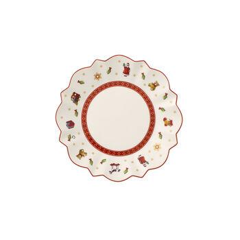 Toy's Delight Appetizer & Dessert Plate: White
