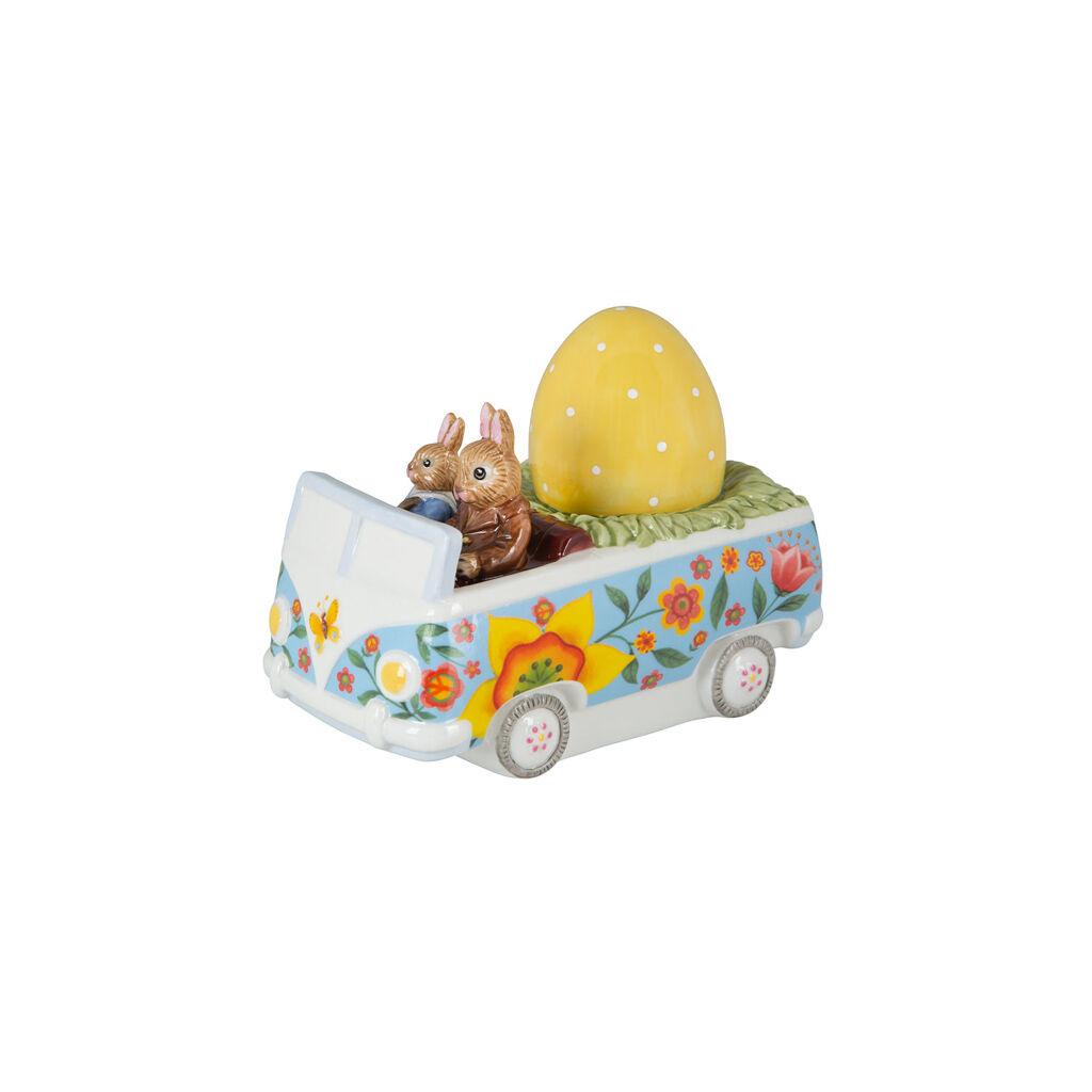 빌레로이 앤 보흐 버니 테일즈 부활절 토끼 데코레이션 Villeroy & Boch Bunny Tales figurine Bus, multicoloured