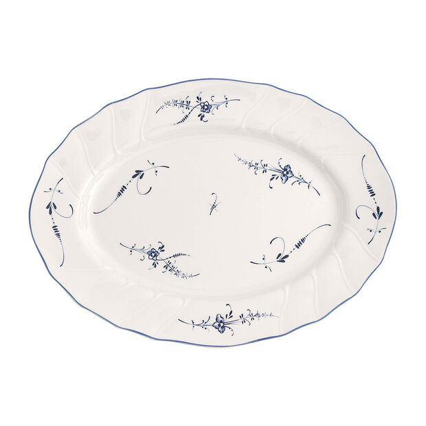 Old Luxembourg Oval Platter, Small, , large