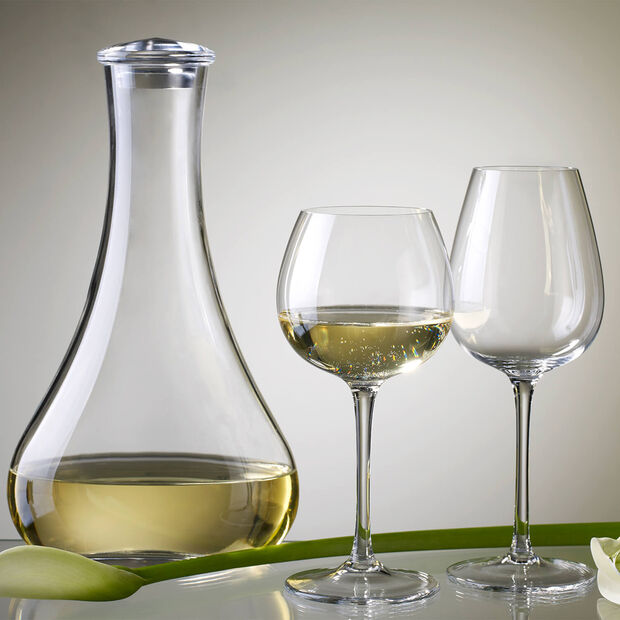 Purismo Soft + Rounded White Wine Goblet, Set of 4, , large