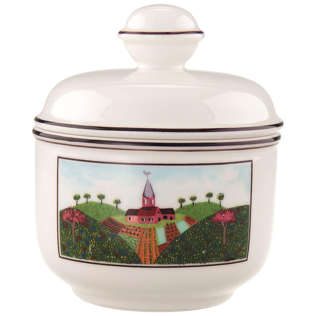 빌레로이 앤 보흐 디자인 나이프 슈가 보울 Villeroy&Boch Design Naif Sugar Bowl 10 oz