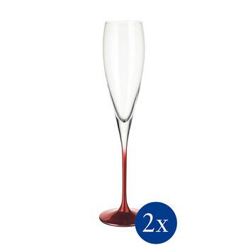 Allegorie Premium Rose Champagne, Set of 2