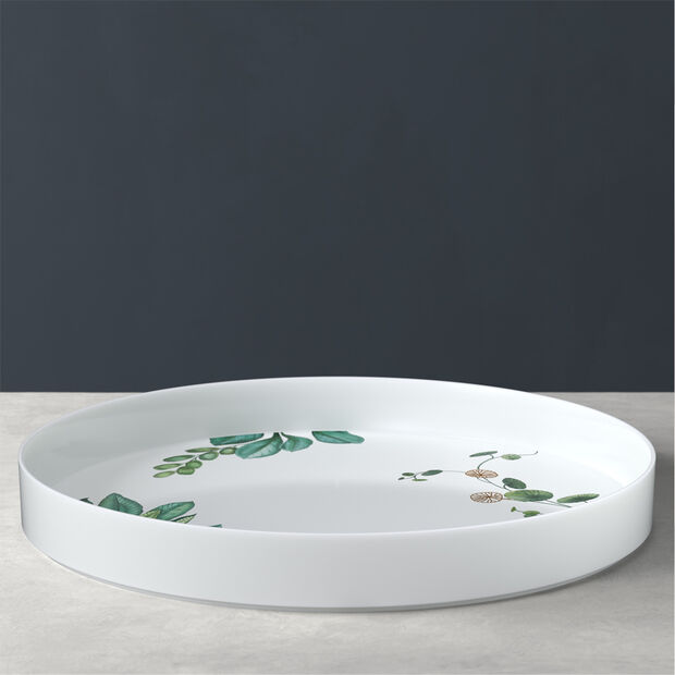 Avarua Gifts Decorative Tray, Round, , large