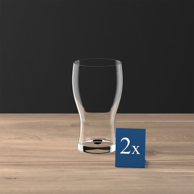 Purismo Beer Pint Glass, Set of 2, , large