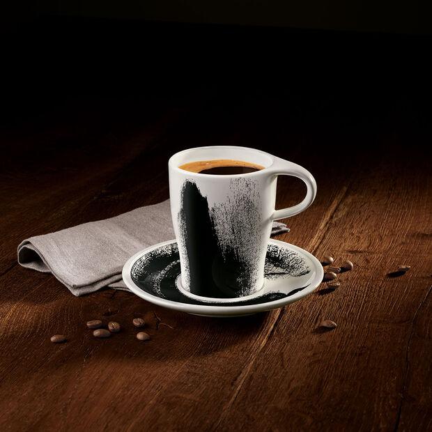 Coffee Passion Awake Coffee Mug & Saucer Set, , large