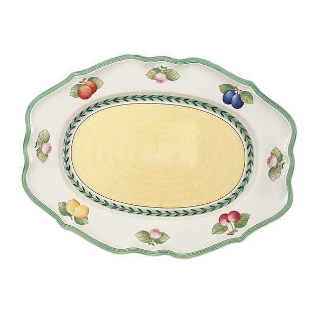 French Garden Fleurence Oval Platter, Large, , large