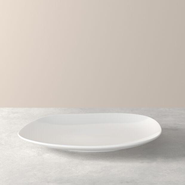 Organic White Dinner Plate, , large