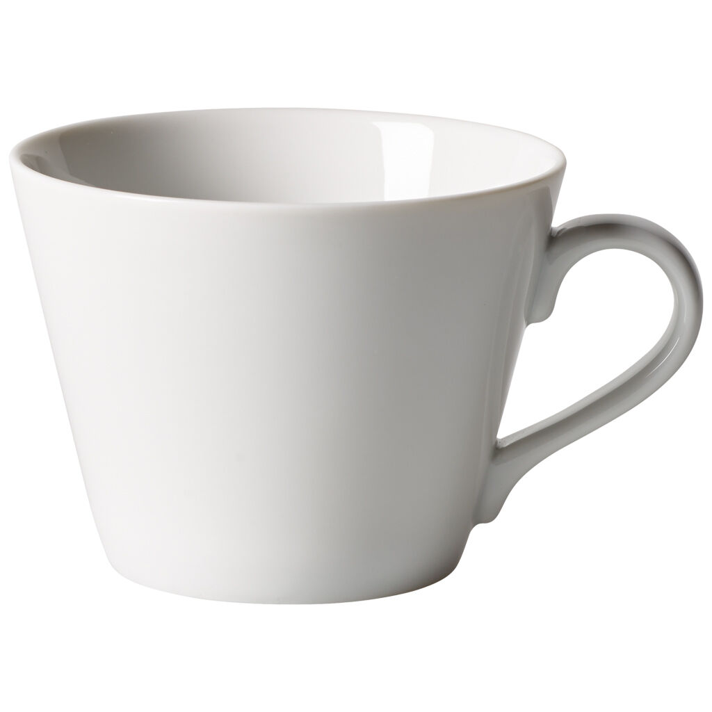 빌레로이 앤 보흐 오가닉 화이트 커피잔 Villeroy & Boch Organic White Coffee Cup 9 oz