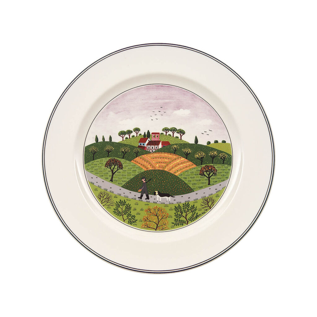 빌레로이 앤 보흐 디자인 나이프 접시 Villeroy&Boch Design Naif dinner plate Huntsman