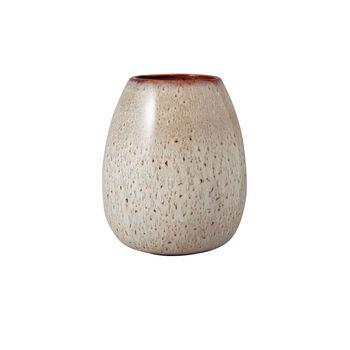 Lave Home Beige Drop Vase, Large