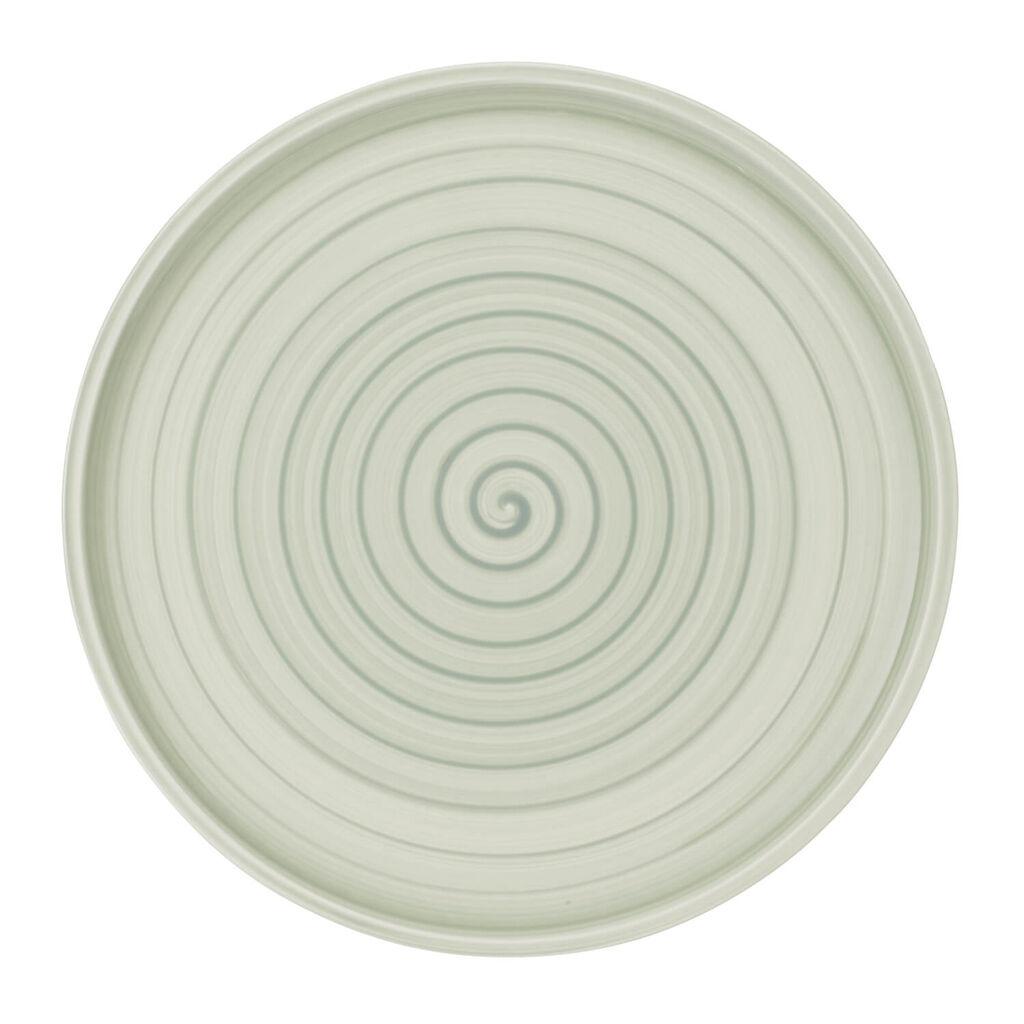 빌레로이 앤 보흐 아르테사노 뷔페 피자 접시 Villeroy & Boch Artesano Nature Vert Buffet/Pizza Plate 12.5 in
