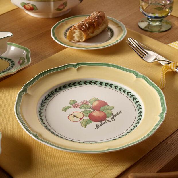 French Garden Valence Apple Dinner Plate, , large